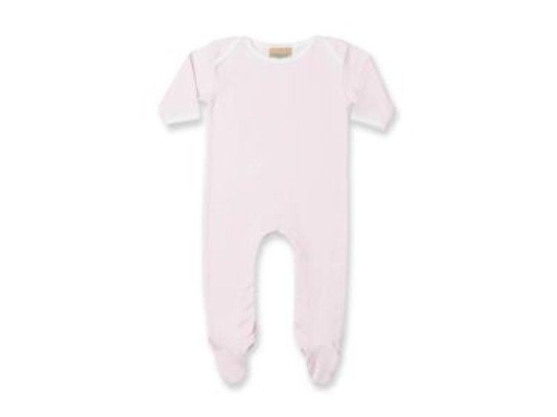 Larkwood Contrast Long Sleeved Sleepsuit