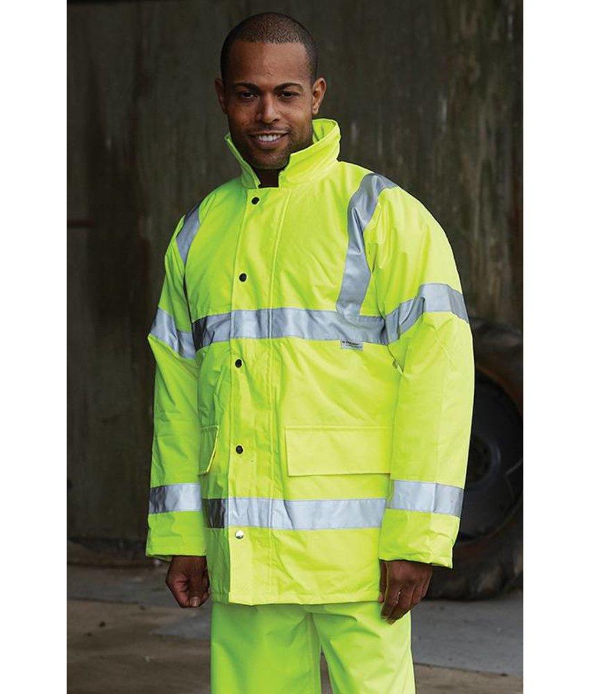 Yoko Hi-Vis Contractor Jacket Yellow