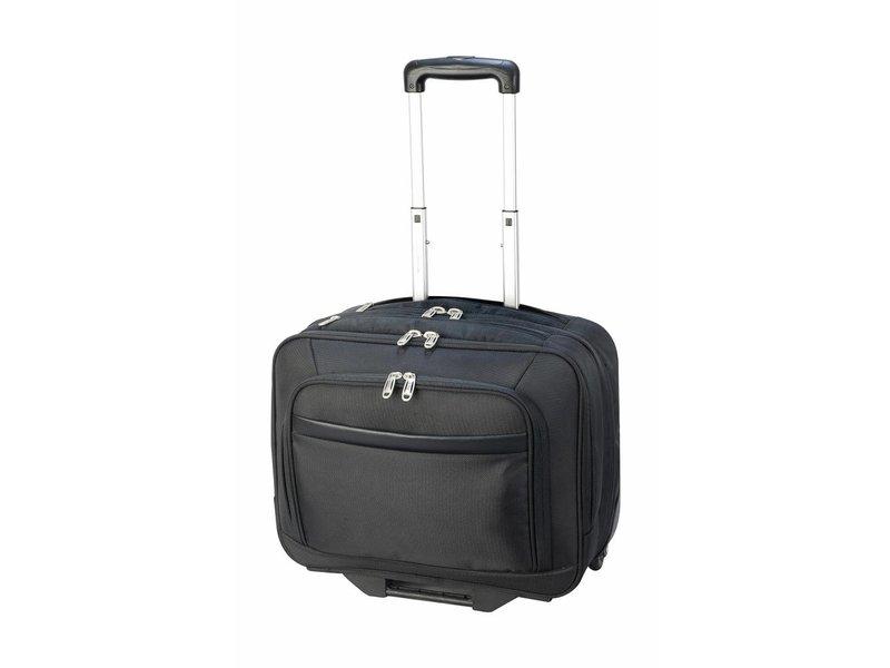 Shugon Windsor Laptop Wheelie Bag Black