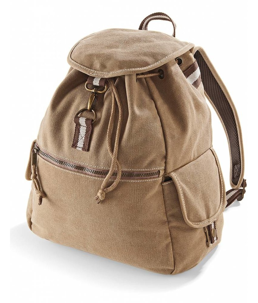 Quadra Desert Canvas Backpack