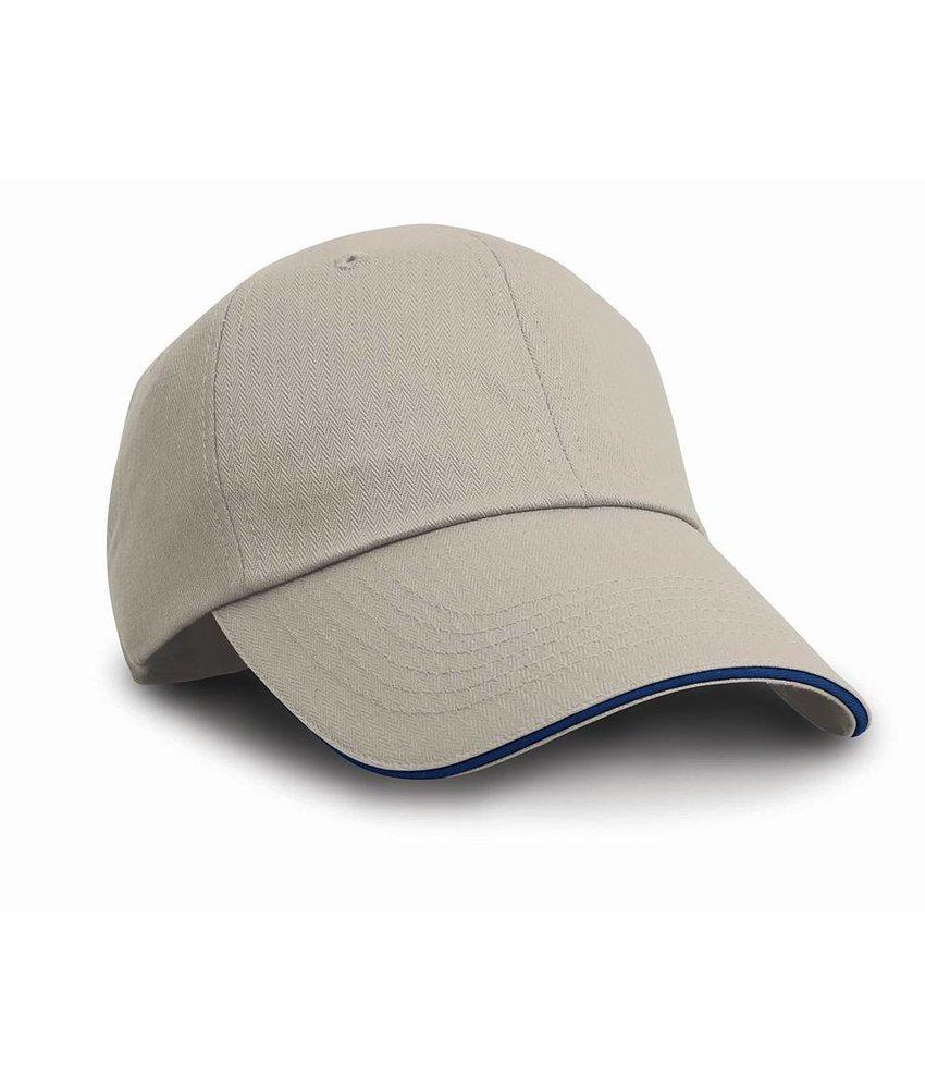 Result Headwear | RC024P | 342.34 | RC024P | Brushed Cotton Sandwich Cap