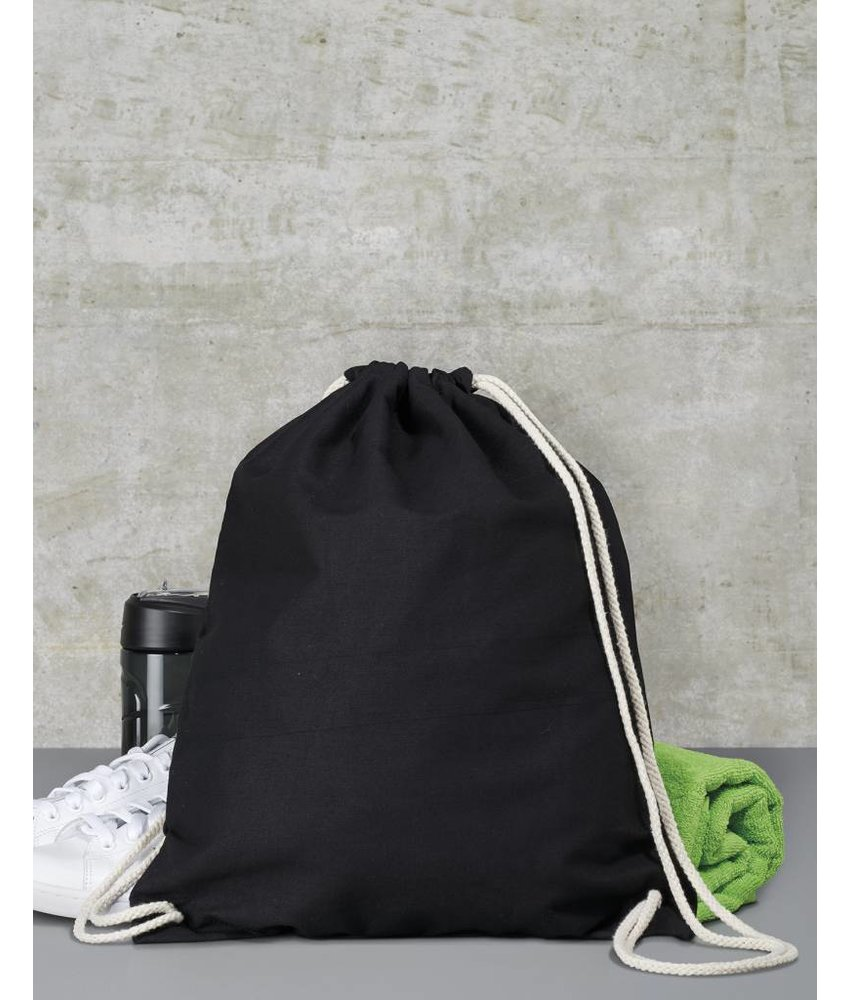 Bags by Jassz | 602.57 | Backpack | Cotton Drawstring Backpack