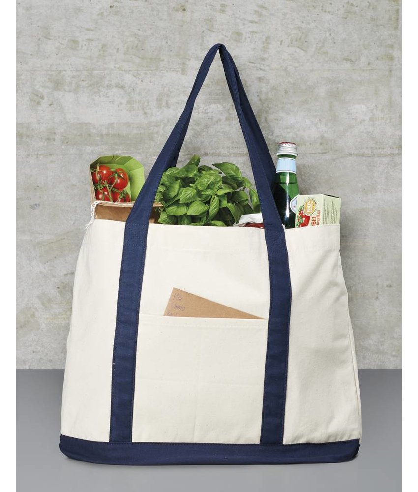 Bags by Jassz | 605.57 | CC-4739-BB | Canvas Shopping Bag
