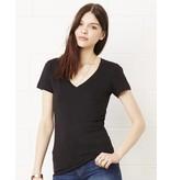 Bella + Canvas Deep V-Neck Jersey T-Shirt