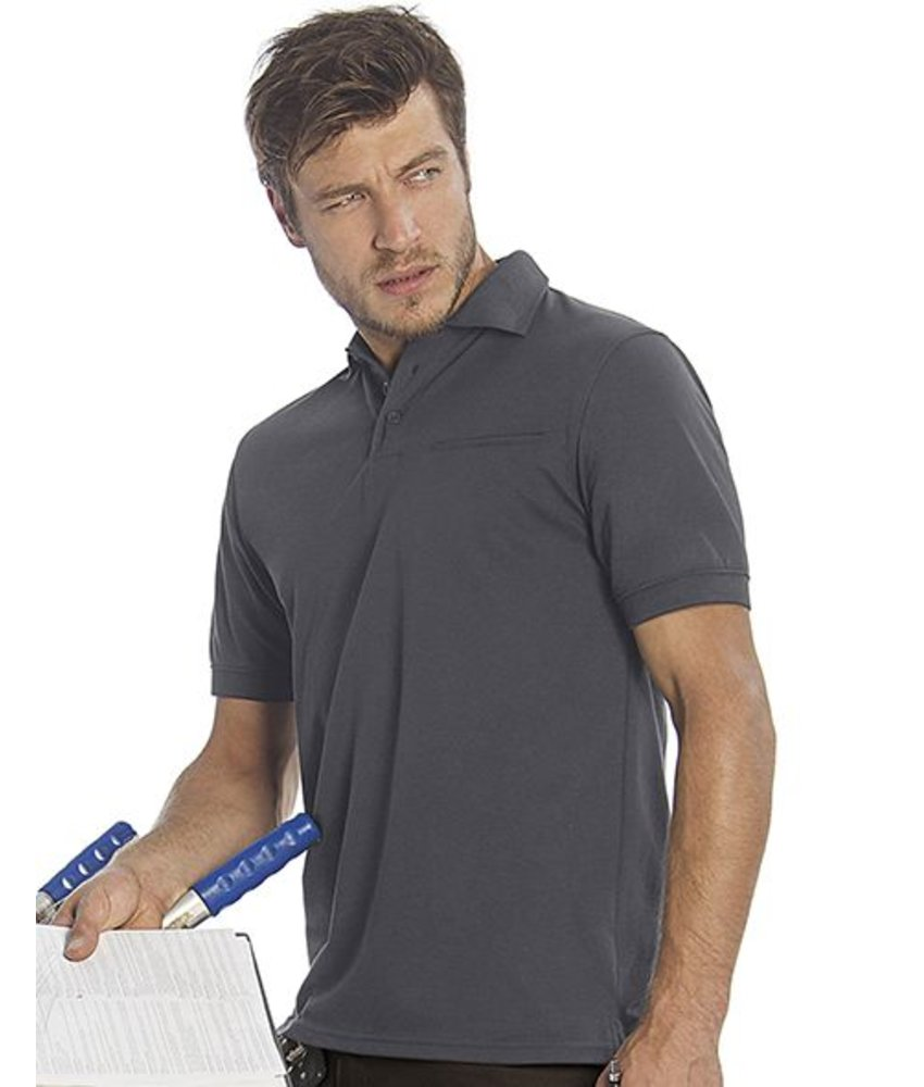 B&C Pro Energy Pro Workwear Pocket Polo