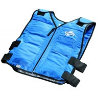 HyperKewl - TechKewl & Coolpax TechKewl Phase Changing Cooling vest (6625) with front zipper