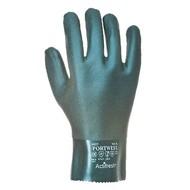 Portwest Dubbel Gedompelde PVC-Handschoen 27cm -A827 - Green