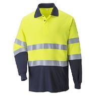 Portwest Vlamvertragend Antistatisch Tweekleuren Poloshirt -FR74 - YeNa
