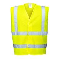 Portwest Vlamvertragende hogezichtbaarheids vest -FR75 - Yellow