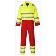 Portwest Bizflame Service Overall -FR90 - Yellow