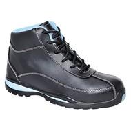 Portwest Steelite ™ Dames Veiligheids Schoen S1P HRO -FW38 - Black