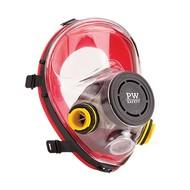 Portwest Zurich Volgelaatsmasker  -P510 - Red
