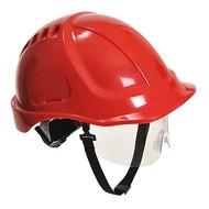 Portwest Endurance Plus Helm met Vizier -PW54 - Red