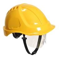 Portwest Endurance Plus Helm met Vizier -PW54 - Yellow