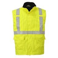 Portwest Bizflame Regen Hi-Vis Antistatische FR Bodywarmer -S776 - Yellow
