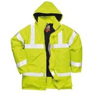 Portwest Bizflame Regen Hi-Vis Ademende en Antistatische FR Jack  -S778 - Yellow