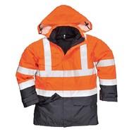 Portwest Bizflame Regen Hi-Vis Multi-Beschermend Jack  -S779 - OrNa