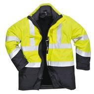 Portwest Bizflame Regen Hi-Vis Multi-Beschermend Jack  -S779 - YeNa