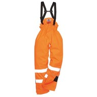 Portwest Bizflame Regen Ongevoerd - Hi-Vis Antistatische FR Broek -S780 - Orange