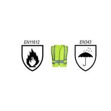 Werkkleding - Vlamvertragend & Regenbescherming & Hoge zichtbaarheid