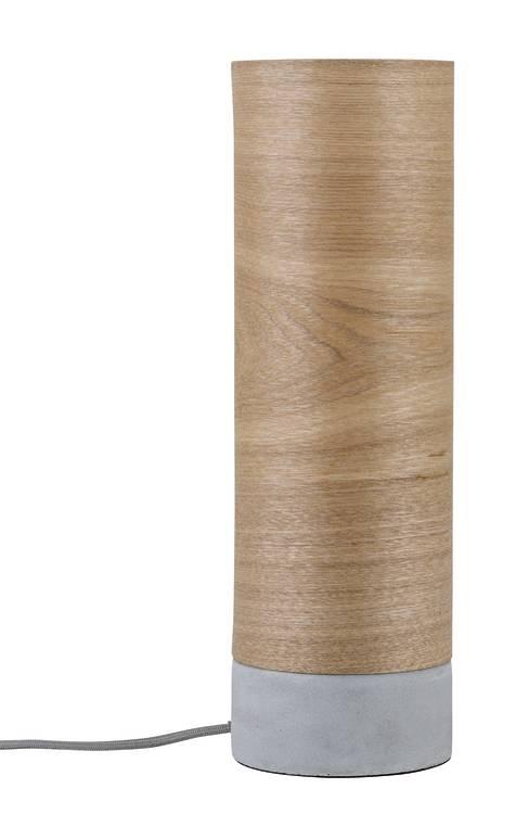 Paulmann Neordic Skadi Tischleuchte max.1x20W E14 Holz/Grau 230V Holz/Beton