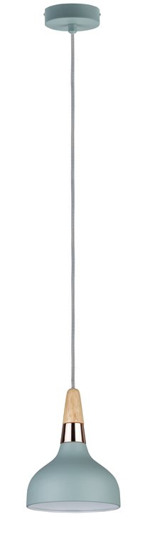 Paulmann Neordic Juna Pendelleuchte 160mm max.1x20W E14 Softgrün/Ku/Ho 230V Me/Ho