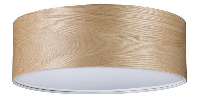 Paulmann Neordic WallCeiling Liska Deckenleuchte max.3x20W E27 Holz 230V Holz/Metall