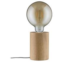 Neordic Talin Tischleuchte max.1x20W E27 Holz 230V Holz