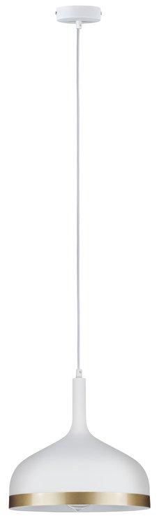 Paulmann Neordic Embla Pendelleuchte max.1x20W E27 Weiß matt/Gold 230V Metall
