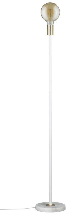 Paulmann Neordic Soa Stehleuchte max.1x20W E27 Weiß/Gold matt 230V Marmor/Metall