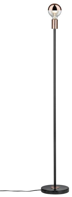 Paulmann Neordic Soa Stehleuchte max.1x20W E27 Schwarz/Kupfer matt 230V Marmor/Metall