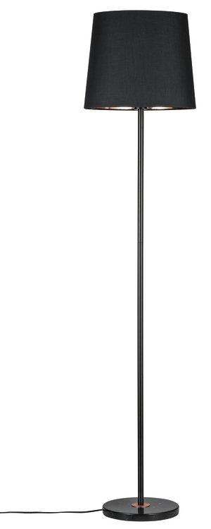 Paulmann Neordic Enja Stehleuchte max.1x20W E27 Schwarz/Kupfer 230V Stoff/Marmor/Metall
