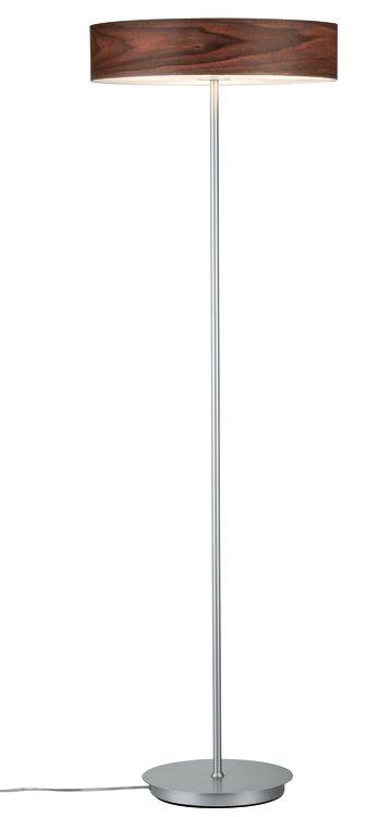 Paulmann Neordic Liska Stehleuchte max.3x20W E27 Holz dunkel/Chrom matt 230V Holz/Metall