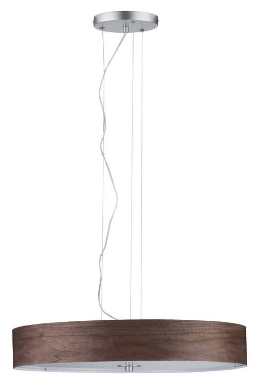 Paulmann Neordic Liska Pendelleuchte max.3x20W E27 Holz dunkel/Chrom m 230V Holz/Metall