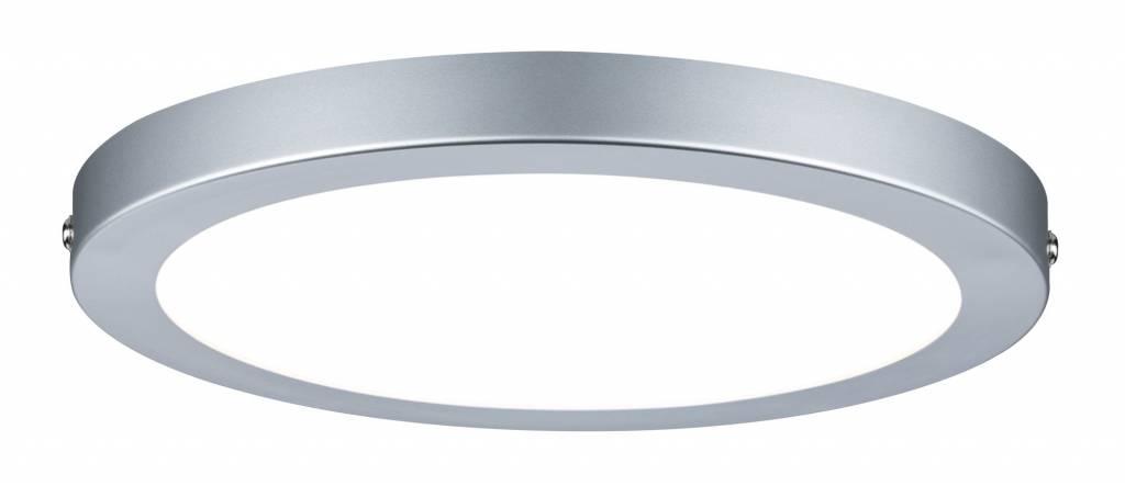 Paulmann WallCeiling Atria LED-Panel 220mm 18,5W Chrom matt 230V Kunststoff