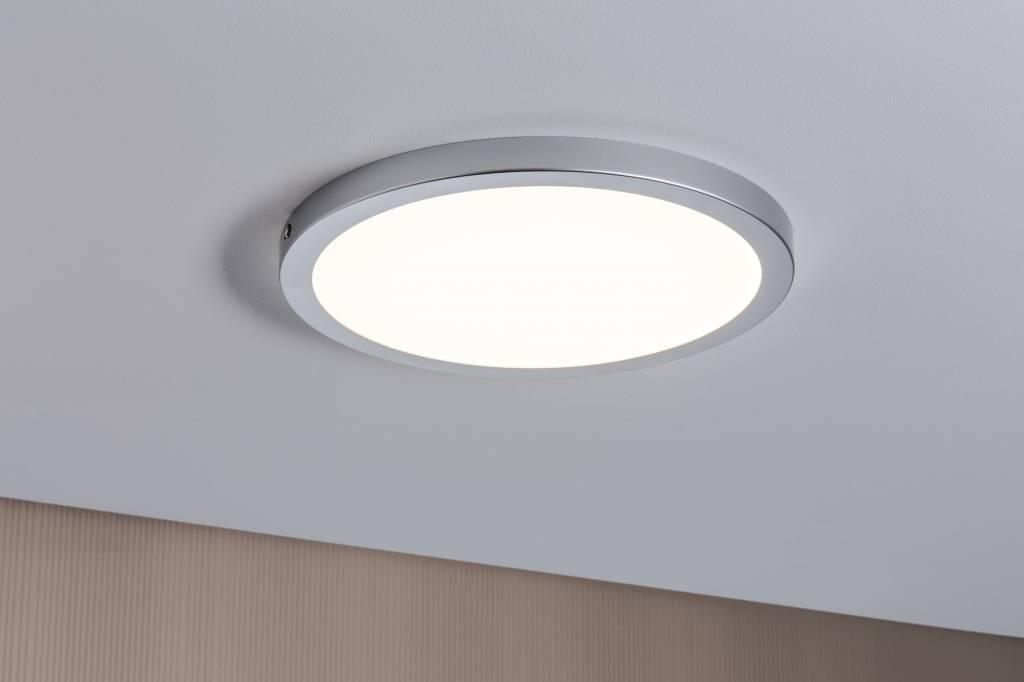Paulmann WallCeiling Atria LED-Panel 300mm 22W Chrom matt 230V Kunststoff