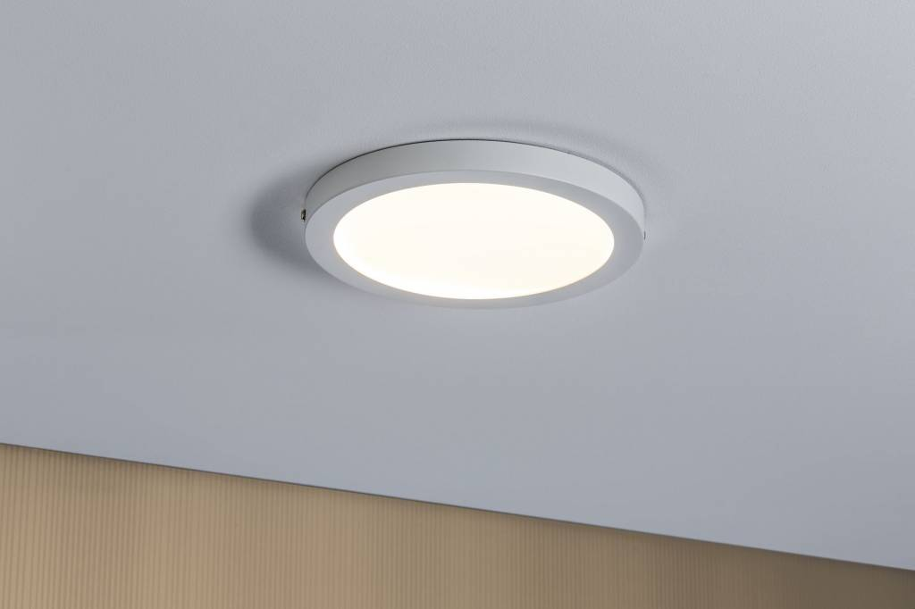 Paulmann WallCeiling Atria LED-Panel 220mm 18,5W Weiß matt 230V Kunststoff