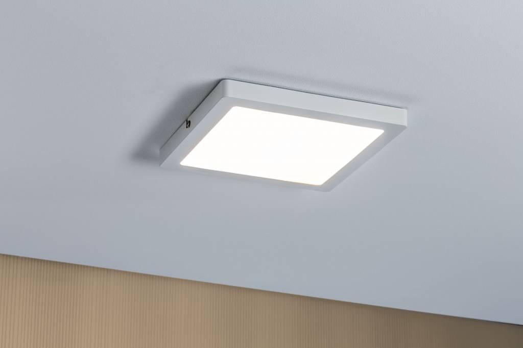 Paulmann WallCeiling Atria LED-Panel 220x220mm 20W Weiß matt 230V Kunststoff