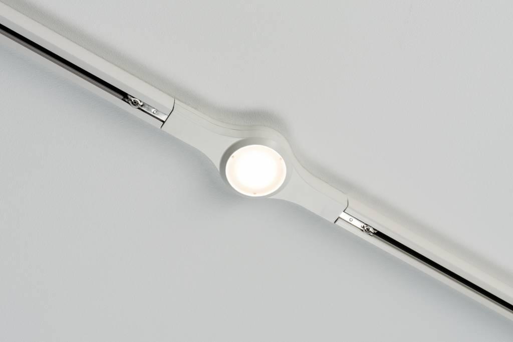 Paulmann URail System LED Linienverbinder 1x5,8W Weiß 230V Metall dimmbar