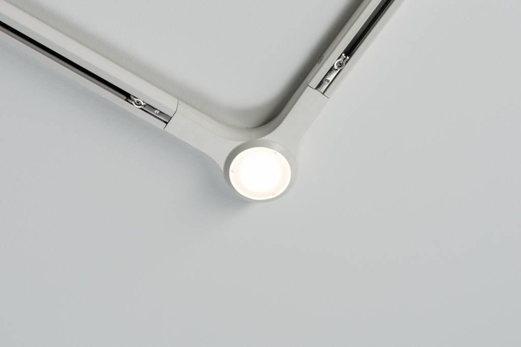 Paulmann URail System LED L-Verbinder 1x5,8W Weiß 230V Metall dimmbar