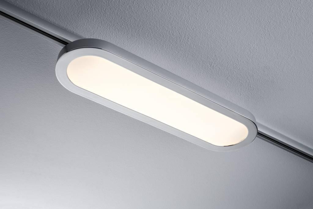 Paulmann URail System LED Panel Loop 7W Chrom matt/Chrom 230V Alu/Kunststoff