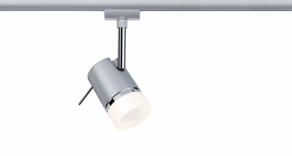 Paulmann URail Spot Pipe max.1x10W GU10 Chrom mat Chrom 230V Metal