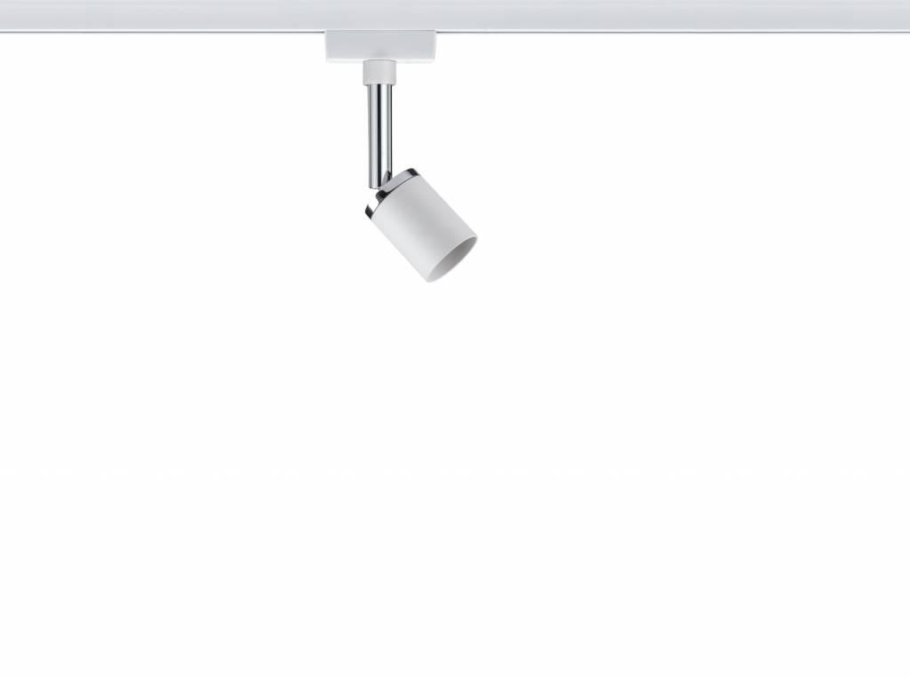 Paulmann URail System Spot Pure II max. 1x10W GU10 Weiß/Chrom 230V Metall