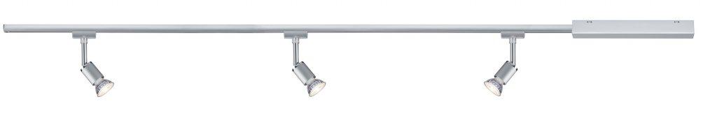 Paulmann URail Set Pure II max 3x10W GU10 Chrom matt//Chrom 230V Metall 1m