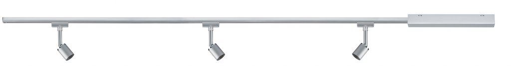 Paulmann URail Set Pure II max 3x10W GU10 Chrom matt/Chrom 230V Metall 1m