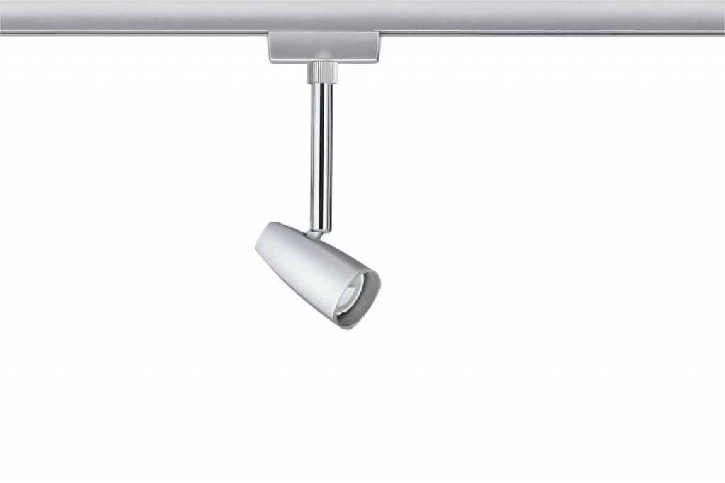 Paulmann URail Spot Barelli max 1x10W GU10 Chrom matt/Chrom 230V Metall