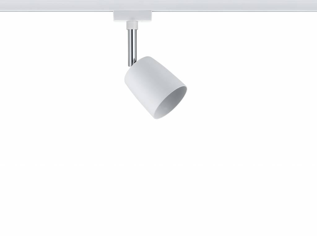 Paulmann URail System Spot Cover max. 1x10W GU10 Weiß/Chrom 230V Metall
