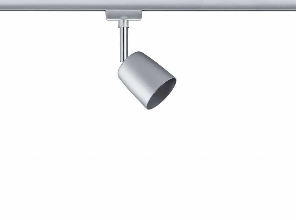 Paulmann URail Set Cover max 3x10W GU10 Chrom matt/Chrom 230V Metall 1m