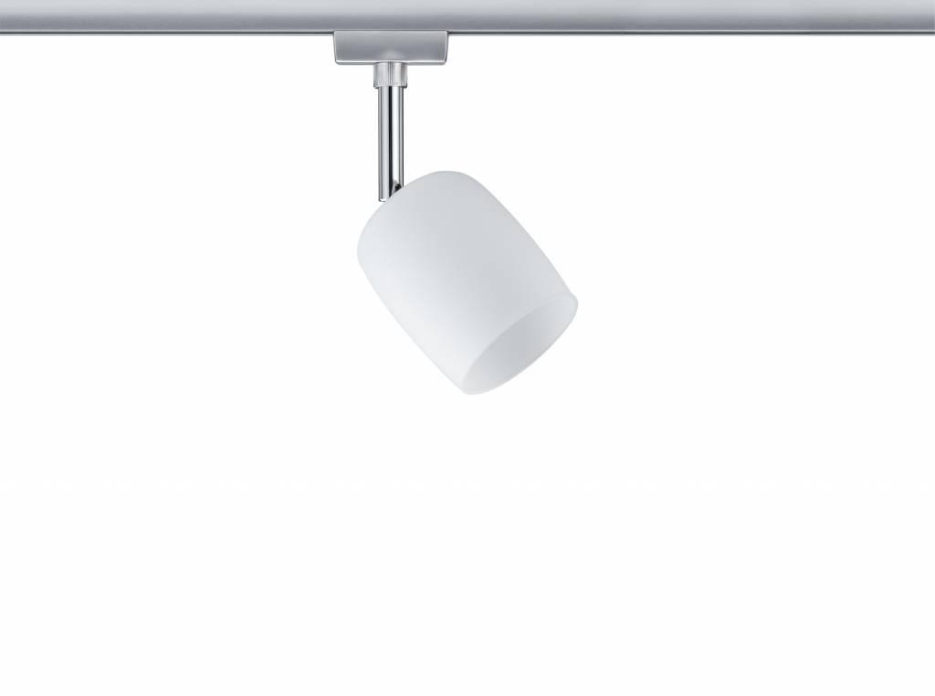 Paulmann URail System Spot Blossom max. 1x10W G9 Chrom matt/Satin 230V Metall/Glas