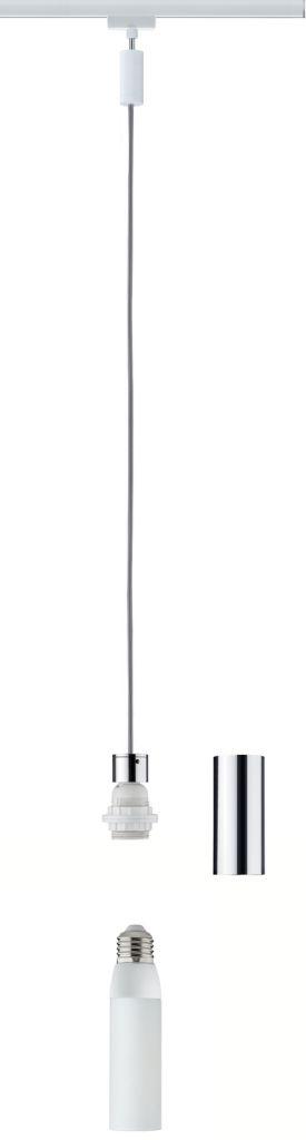 Paulmann Urail 2Easy Basic Pendel max 1x20W E27 Weiß/Chrom 230V Metall